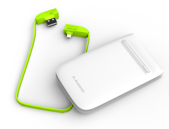 Portable power bank juna for Cables pc galeria jardin