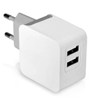 Dual USB travel charger